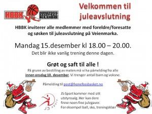 juleavslutning 2014