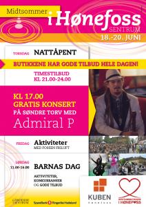 Midtsommer i Hønefoss_PROGRAM 2015
